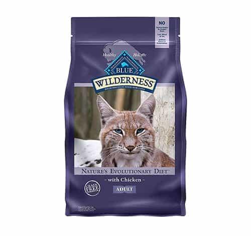 Blue Buffalo Wilderness Grain Free Comida seca para gatos