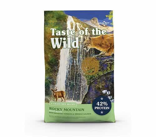 Receta sin cereales Taste of the Wild Rocky Mountain