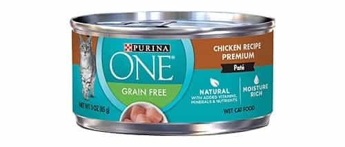 Purina ONE Natural Grain Free Paté Comida húmeda para gatos