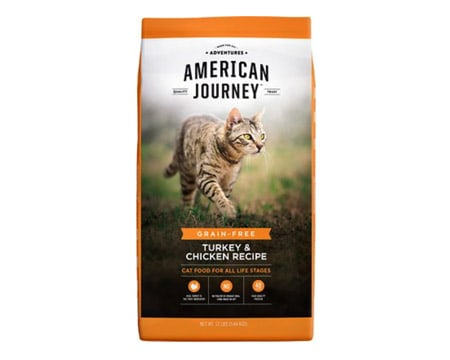 comida para gatos american journey